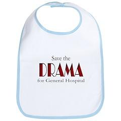 Drama on General Hospital Bib