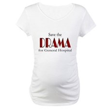 Drama on General Hospital Maternity T-Shirt