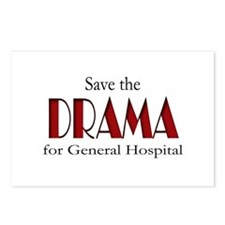 Drama on General Hospital Postcards (Package of 8)