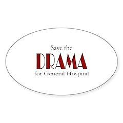 Drama on General Hospital Decal