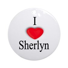 Sherlyn Ornament (Round)