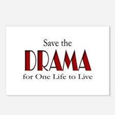 Drama One Life to Live Postcards (Package of 8)
