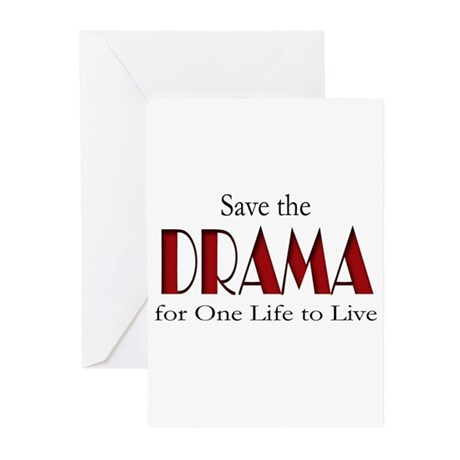 Drama One Life to Live Greeting Cards (Pk of 20)
