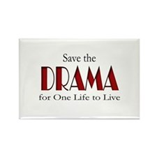 Drama One Life to Live Rectangle Magnet