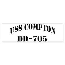 USS COMPTON Bumper Sticker