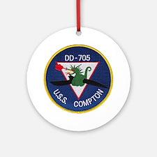 USS COMPTON Ornament (Round)