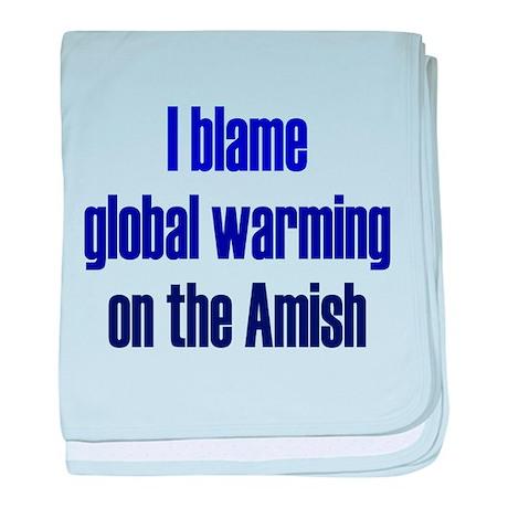 Global Warming Amish baby blanket