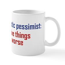Optimistic Pessimist Mug