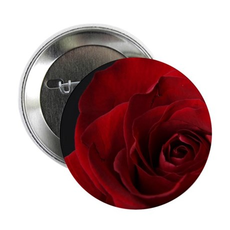 """Red Rose R 2.25"""" Button (10 pack)"""