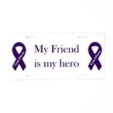 Friend CF Hero Aluminum License Plate