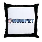 Crumpet Throw Pillow
