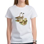 Buff African Goose Family Women's T-Shirt