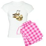 Buff African Goose Family Women's Light Pajamas