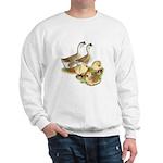 Buff African Goose Family Sweatshirt