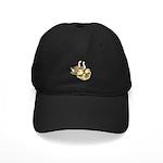 Buff African Goose Family Black Cap