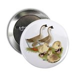 """Buff African Goose Family 2.25"""" Button (100 p"""