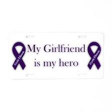 Girlfriend CF Hero Aluminum License Plate