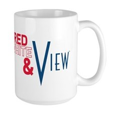 Red, White & View Mug