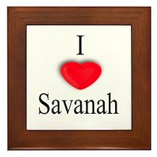 Savanah Framed Tile
