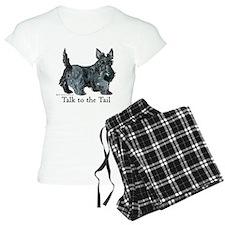 Scottish Terrier Attitude Pajamas