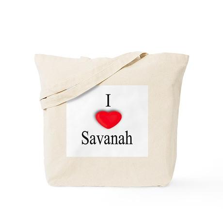 Savanah Tote Bag