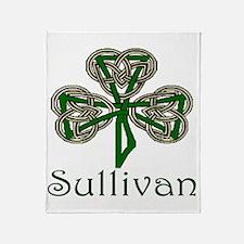 Sullivan Shamrock Throw Blanket