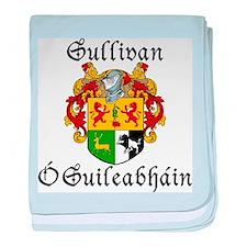 Sullivan In Irish & English baby blanket
