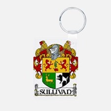 Sullivan Coat of Arms Aluminum Photo Keychain