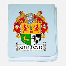 Sullivan Coat of Arms baby blanket
