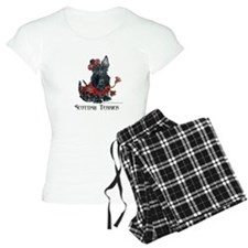 Celtic Scottish Terrier Pajamas