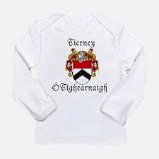 Tierney In Irish & English Long Sleeve Infant T-Sh