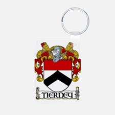 Tierney Coat of Arms Aluminum Photo Keychain