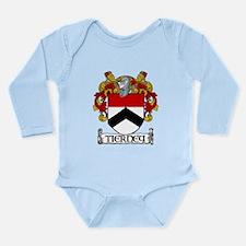 Tierney Coat of Arms Long Sleeve Infant Bodysuit