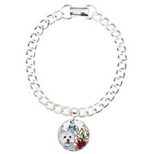 Westie Terrier in the Garden Bracelet