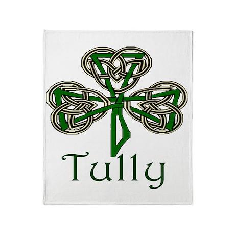 Tully Shamrock Throw Blanket