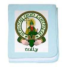 Tully Clan Motto baby blanket