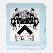 Walker Coat of Arms baby blanket