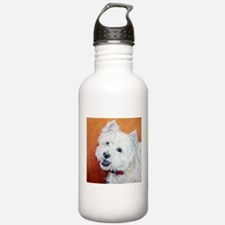 """Booker's"" Westie stuff! Water Bottle"