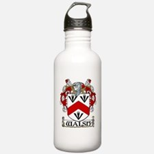 Walsh Coat of Arms Water Bottle