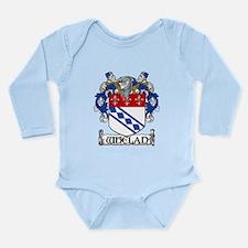 Whelan Coat of Arms Long Sleeve Infant Bodysuit