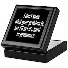 Your Problem Keepsake Box
