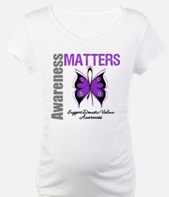 Domestic Violence Butterfly Shirt