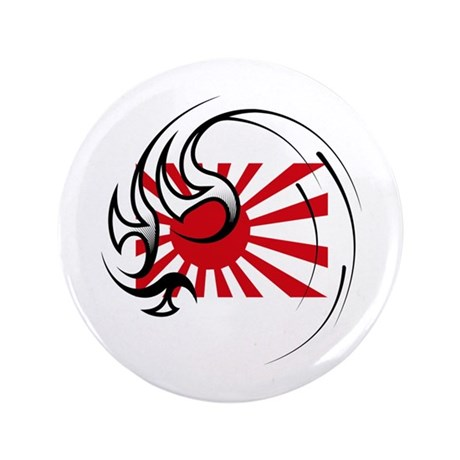 """Stay Strong Japan 3.5"""" Button"""