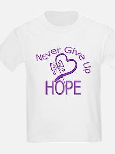 Domestic Violence NeverGiveUp T-Shirt