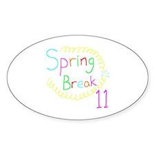 Spring Break 11 Decal