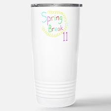 Spring Break 11 Travel Mug