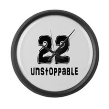 "Unique Logo in red 2.25"" Button"