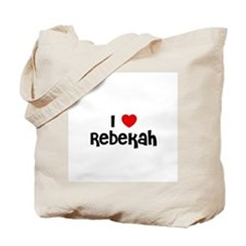 I * Rebekah Tote Bag