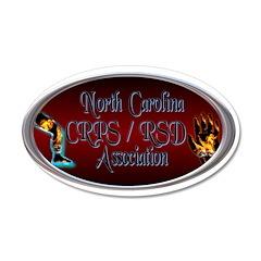 North Carolina CRPS/RSD Association 22x14 Oval Wal