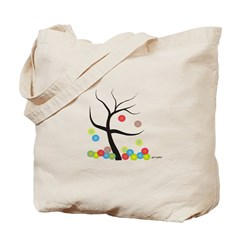 Absract Tree Art Tote Bag